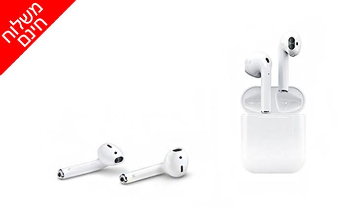 2 אוזניות בלוטות' i12 - משלוח חינם