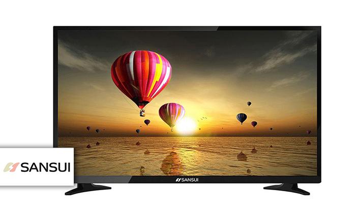 טלוויזיה 4K חכמה SANSUI, מסך 43 אינץ'