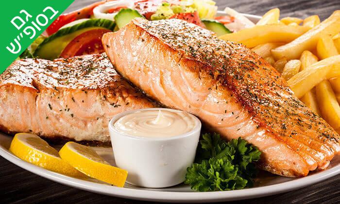 6 ארוחת דגים זוגית במסעדת בני הדייג, מרינה הרצליה