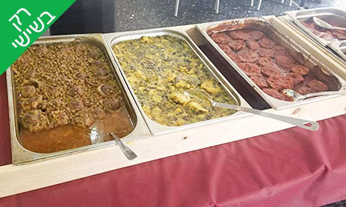 5 שובר הנחה לקניית אוכל מוכן ממסעדת הגריל הלוהט הכשרה, תל אביב