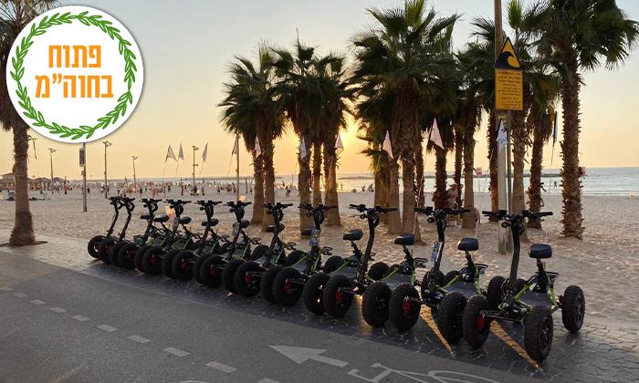 10 סיור רכיבה עם Ezraider כולל הדרכה - תל אביב, גם בשישי