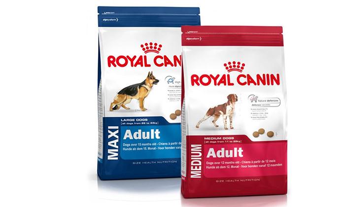 5 זוג שקי מזון לכלבים בוגרים Royal Canin