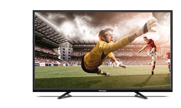 טלוויזיה 4K SMART Peerless, מסך 55 אינץ' - משלוח חינם