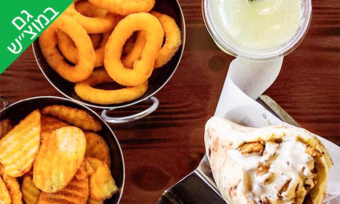 4 ארוחה במסעדת 'הירושלמית - בוא להיות מעורב', באר שבע