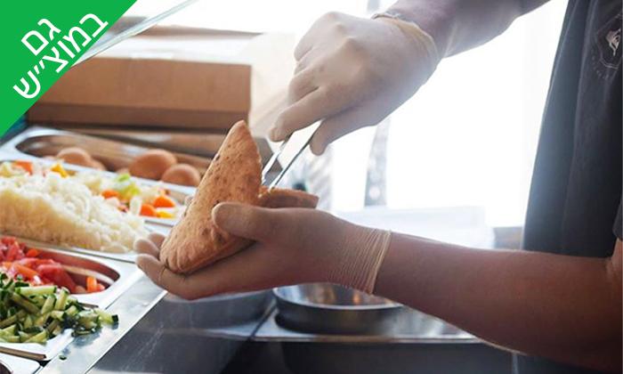 8 ארוחה במסעדת 'הירושלמית - בוא להיות מעורב', באר שבע