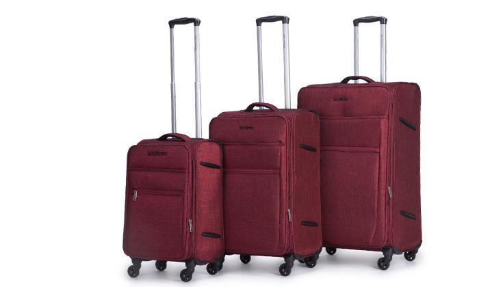 8 סט שלוש מזוודות SWISS
