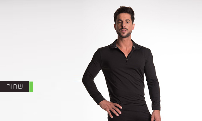 5 חולצה תרמית LEVEL 3 - משלוח חינם