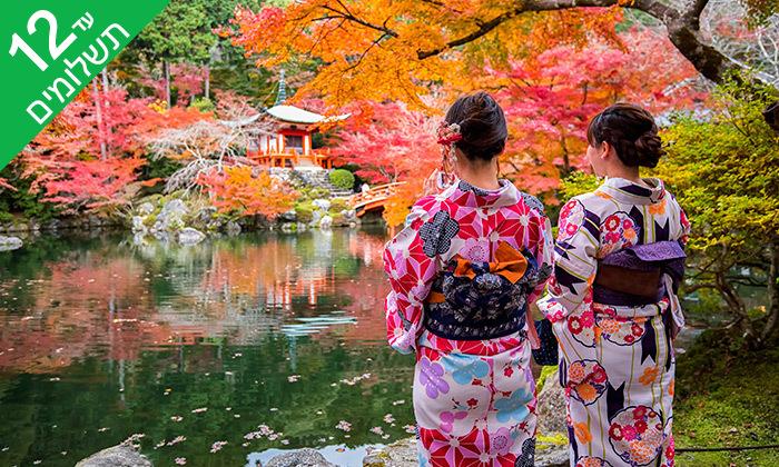 3 טוקיו, קיוטו, אוסקה, האלפים היפנים ועוד - טיול 11 ימים ביפן