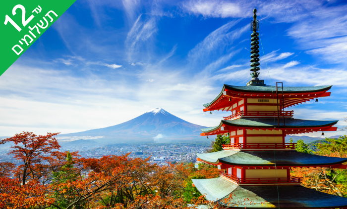 7 טוקיו, קיוטו, אוסקה, האלפים היפנים ועוד - טיול 11 ימים ביפן