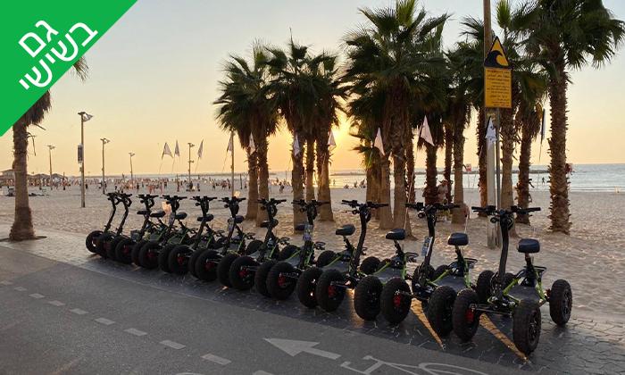 16 סיור רכיבה עם Ezraider כולל הדרכה, תל אביב