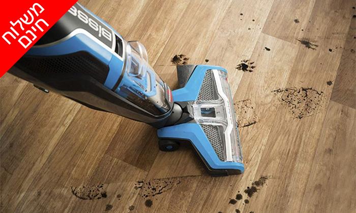 7 שואב אבק ושוטף רצפות BISSELL - משלוח חינם