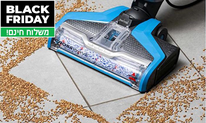 5 שואב אבק ושוטף רצפות BISSELL - משלוח חינם