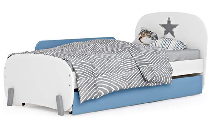 7 רהיטי סוכריה: מיטת ילדים ונוער ברוחב וחצי