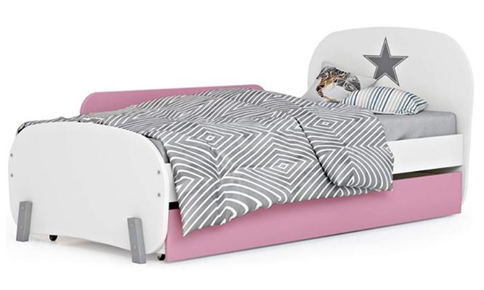 4 רהיטי סוכריה: מיטת ילדים ונוער ברוחב וחצי