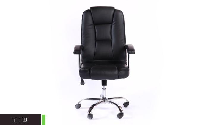 4 כיסא מנהל אורתופדי