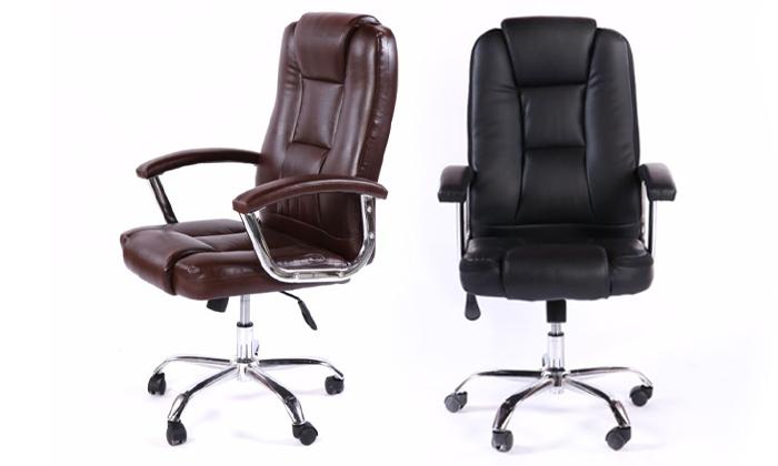8 כיסא מנהל אורתופדי
