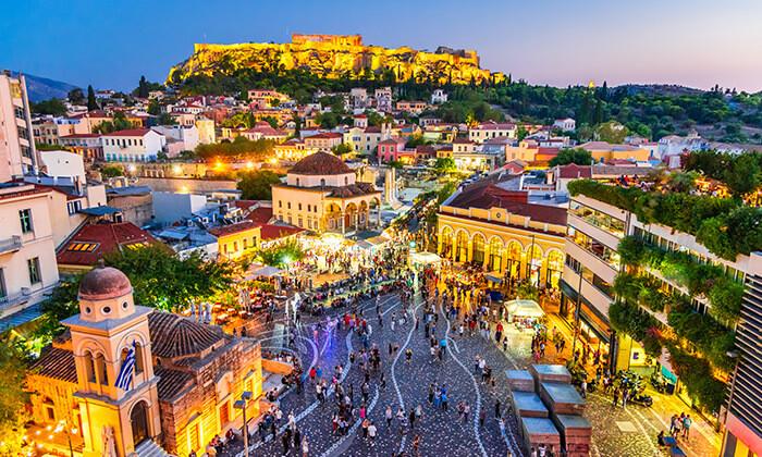 5 כוכבים באתונה, יוון - טיסה קצרה, נופים ואתרים מרתקים