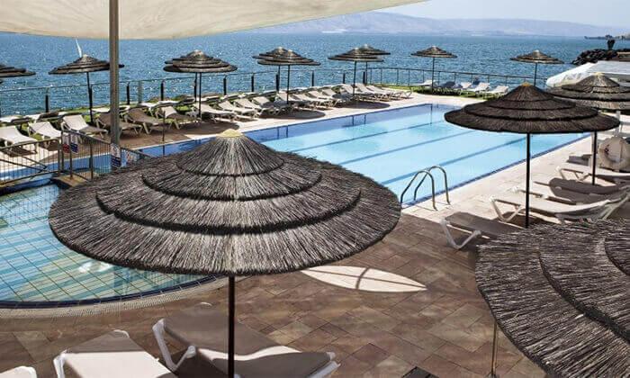 3 יום פינוק כולל עיסוי ליחיד במלון רימונים גלי כנרת, טבריה