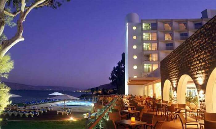 4 יום פינוק כולל עיסוי ליחיד במלון רימונים גלי כנרת, טבריה