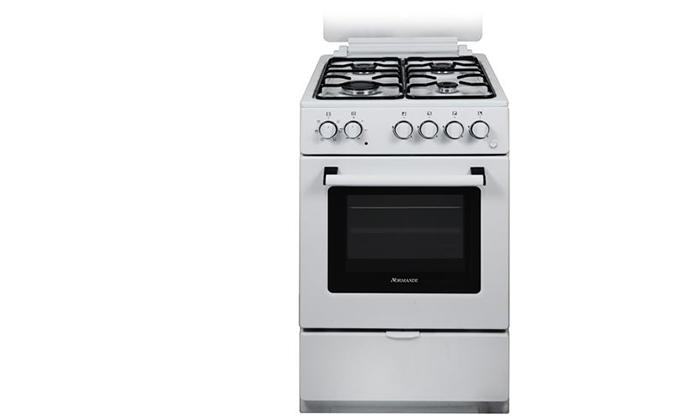 2 תנור אפייה משולב כיריים Normande בנפח 52 ליטר