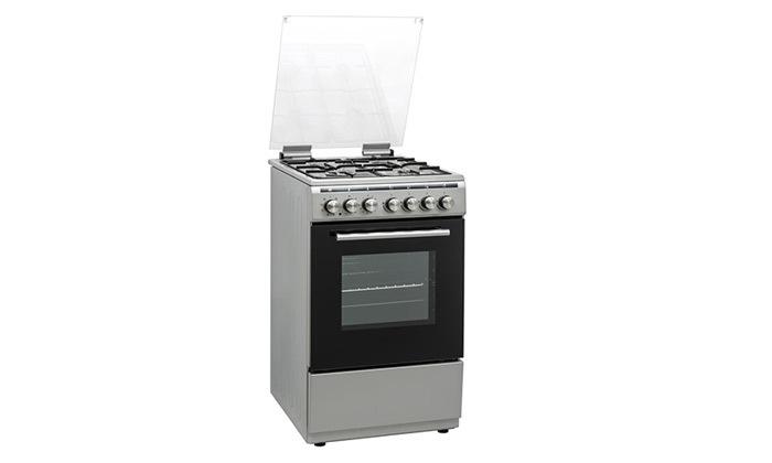 3 תנור אפייה משולב כיריים Normande בנפח 52 ליטר