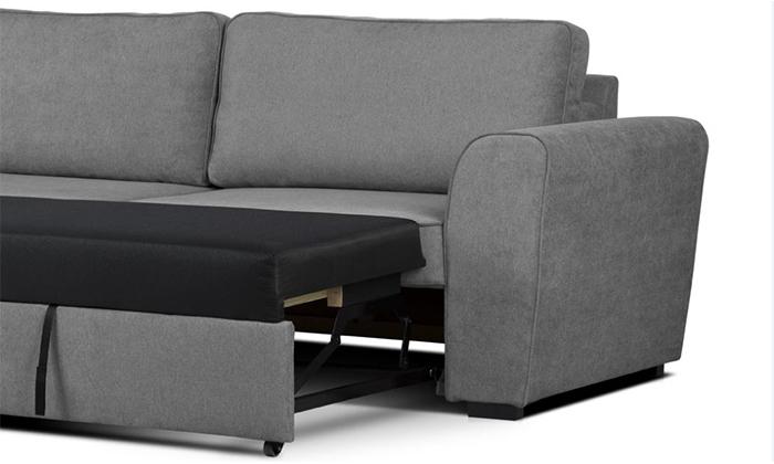 4 שמרת הזורע: ספה תלת מושבית נפתחת