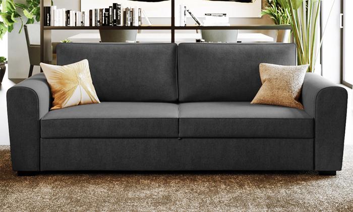 10 שמרת הזורע: ספה תלת מושבית נפתחת