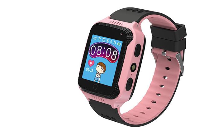4 שעון טלפון GPS לילדים KIDIWATCH Lite