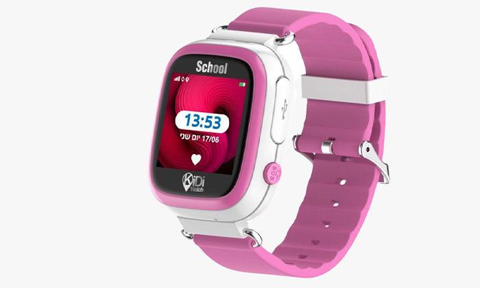 4 שעון טלפון GPS לילדים KIDIWATCH School