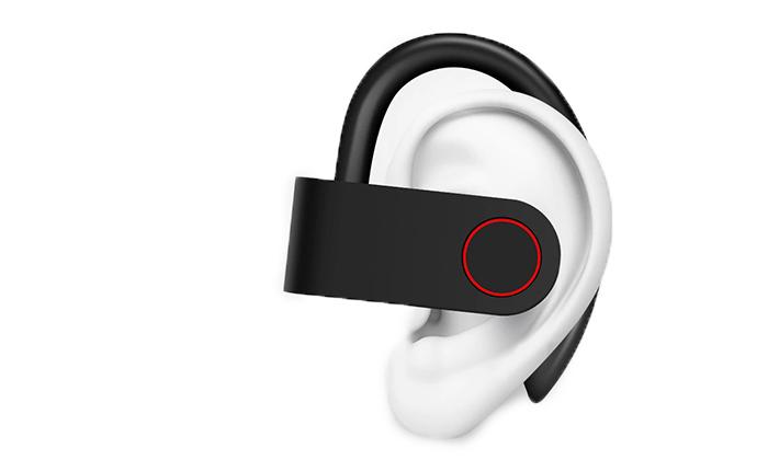 4 אוזניות ספורט בלוטוס אלחוטיות נטענות TWS