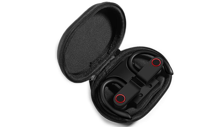 5 אוזניות ספורט בלוטוס אלחוטיות נטענות TWS