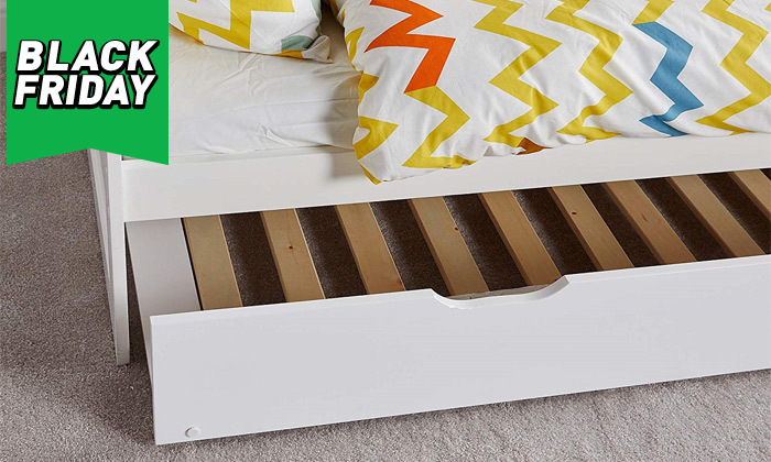 9 מיטת ילדים מעץ מלא TUTTI