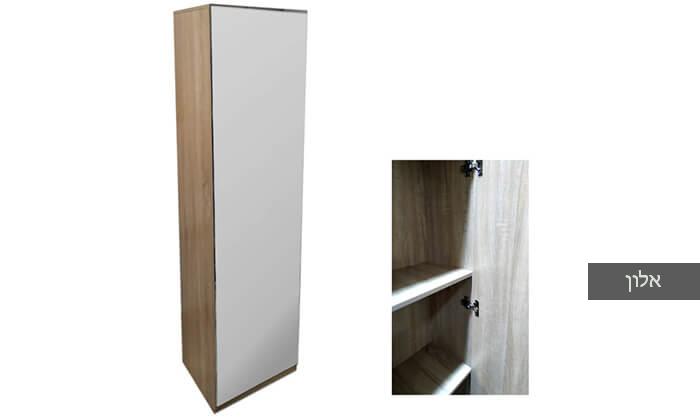 6 ארון מדפים עם דלת מראה Homax