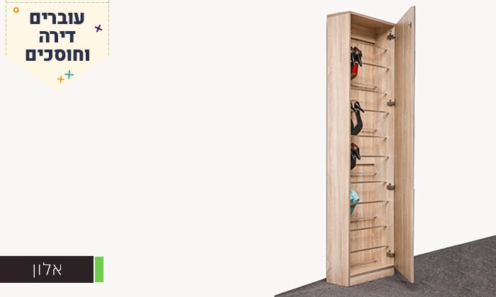 7 ארון נעליים עם דלת מראה Homax