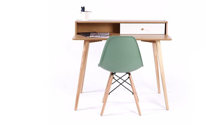 5 שולחן מחשב מעץ
