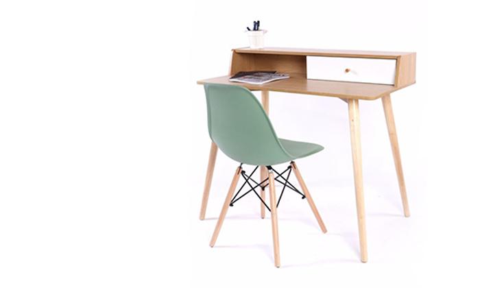 3 שולחן מחשב מעץ