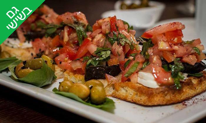 5 ארוחה איטלקית לזוג במסעדת רונן, נצרת
