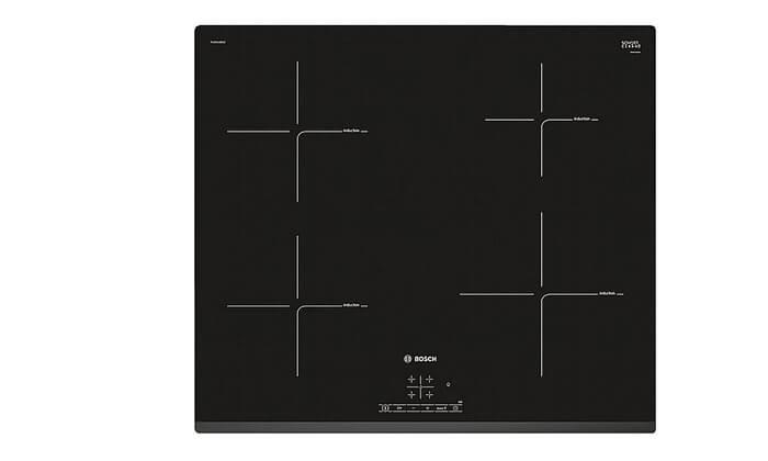 4 כיריים אינדוקציה 4 אזורי בישול בוש Bosch
