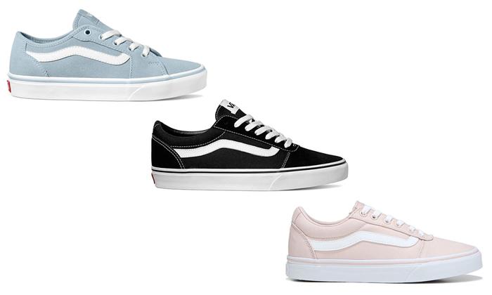 3 נעלי סניקרס לנשים VANS - משלוח חינם לזמן מוגבל