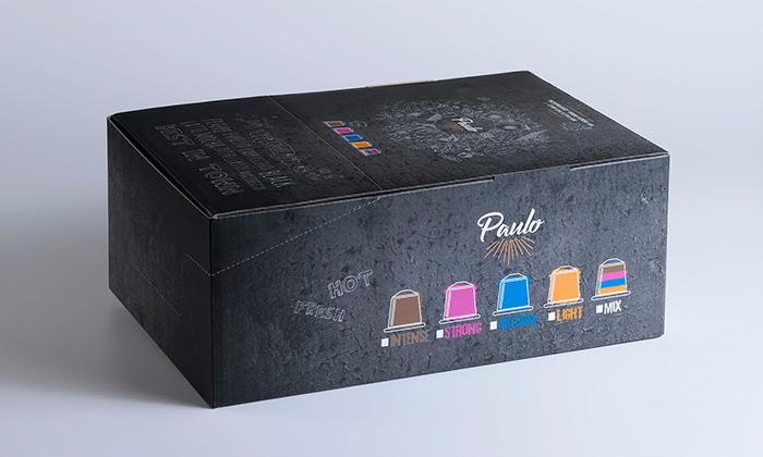 5 100 קפסולות קפה PAULO כשרות