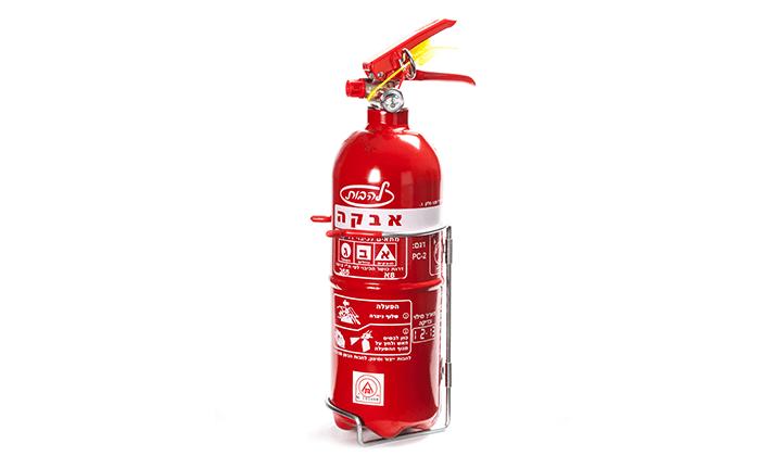 8  מטף כיבוי אש לרכב ולבית, כולל תושבת לתלייה