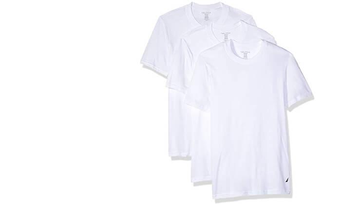 5 מארז 6 חולצות טי-שרט נאוטיקה לגבר