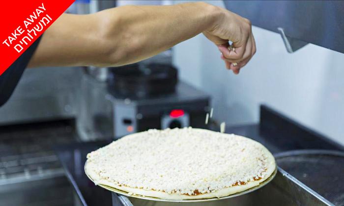 3 מגש פיצה או ארוחת פסטה בקאסה דל פפה, הרצליה