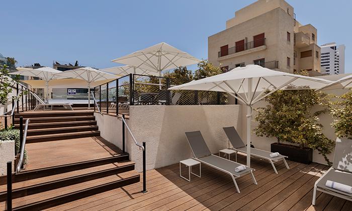 """7 מלון מטרופוליטן תל אביב, כולל סופ""""ש"""