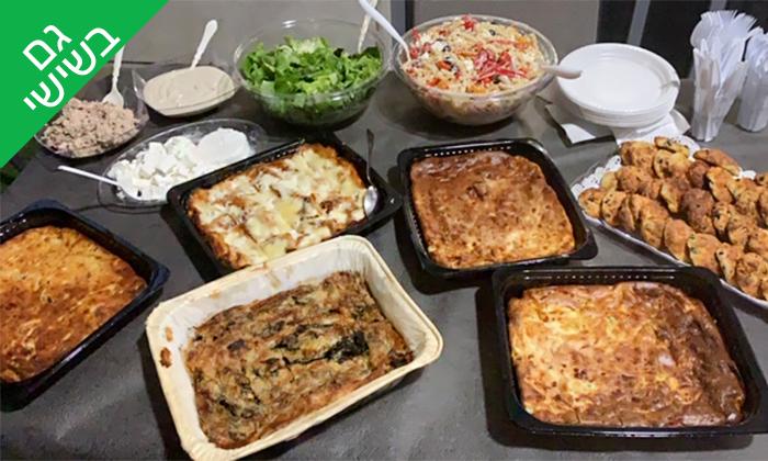 10 שובר הנחה להזמנת אוכל מוכן מהמטבח של רונית ביהוד - כולל משלוחים