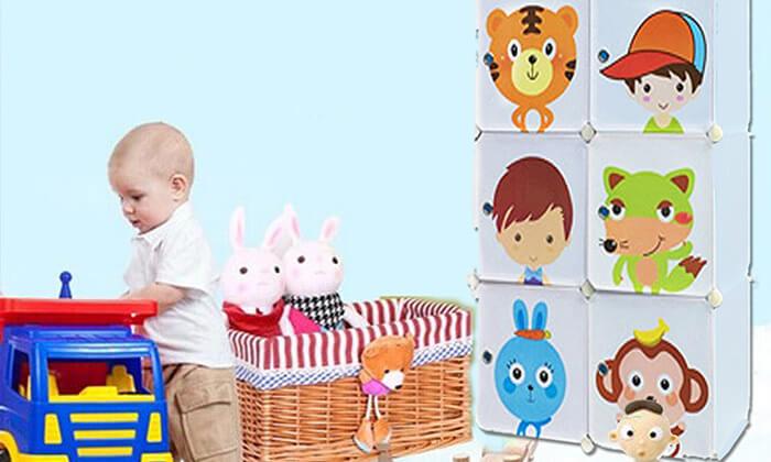 3  כוורת מודולרית לחדרי ילדים