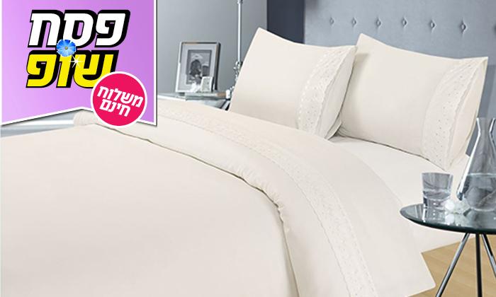 3 סט מצעים 4 חלקים למיטה זוגית XENON - משלוח חינם