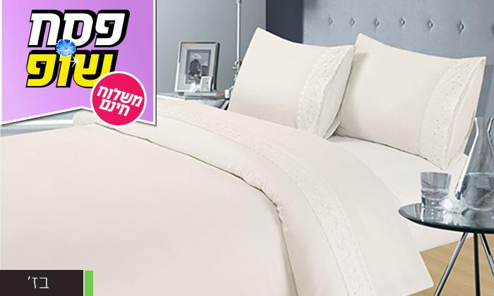 5 סט מצעים 4 חלקים למיטה זוגית XENON - משלוח חינם