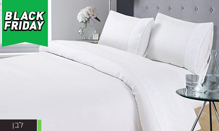 4 סט מצעים 4 חלקים למיטה זוגית XENON - משלוח חינם