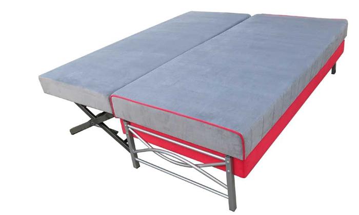 5 מיטת יחיד אורתופדית נפתחת